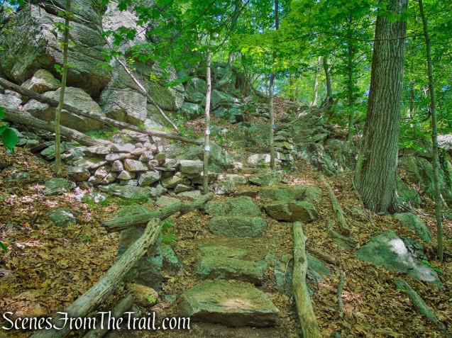 Grand Stone Staircase - Eastern Loop