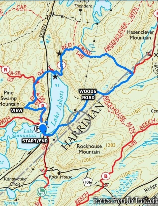 Lake Askoti Loop - Harriman State Park