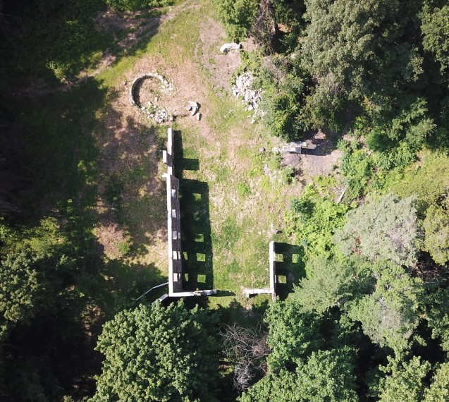 Black Mansion Aerial - image courtesy of Maureen Koehl