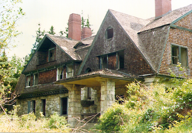 Black Mansion - Leon Levy Preserve taken by Carol Gracie circa 1973