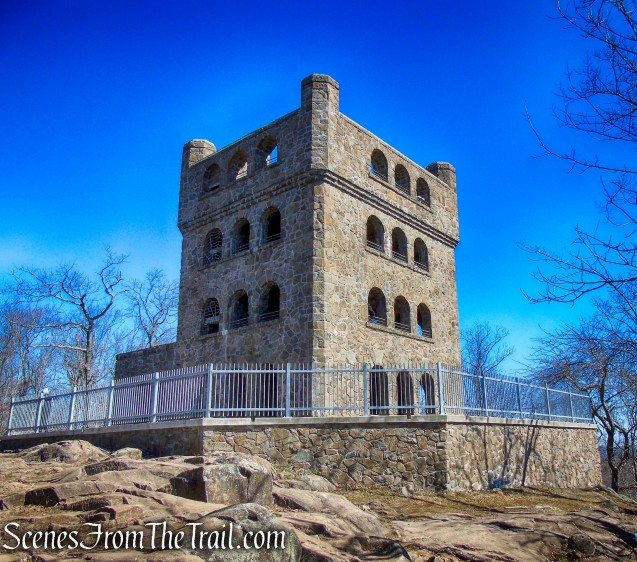 observation tower – Sleeping Giant State Park