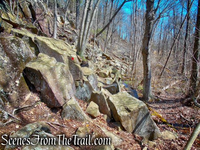 Red Circle Trail – Sleeping Giant State Park