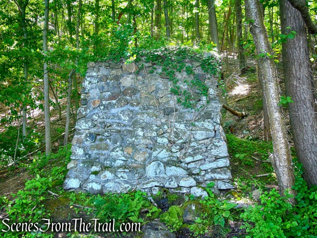 ruins at Blue Lake - Salt Hill State Forest