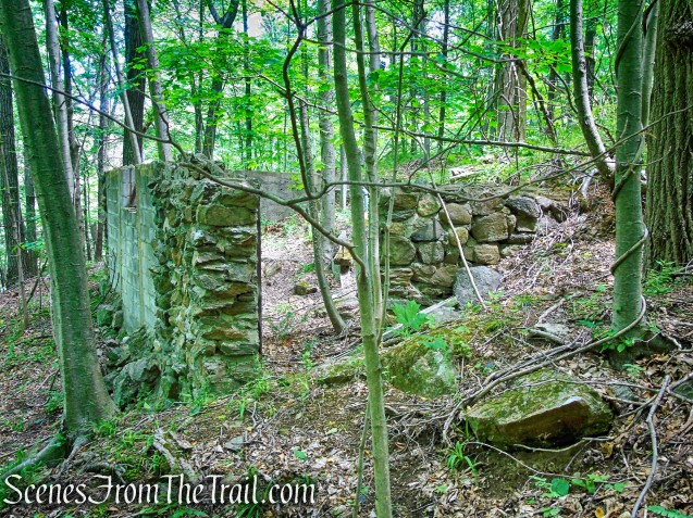 ruins near Blue Lake - Salt Hill State Forest