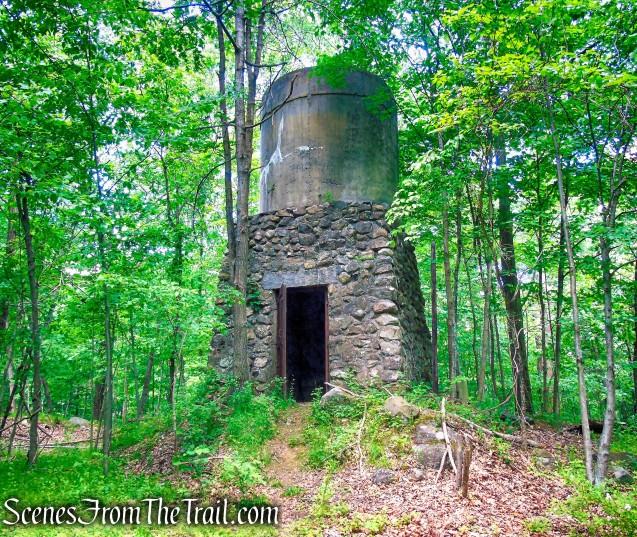 ruins near Blue Lake - Salt Hill State Forest
