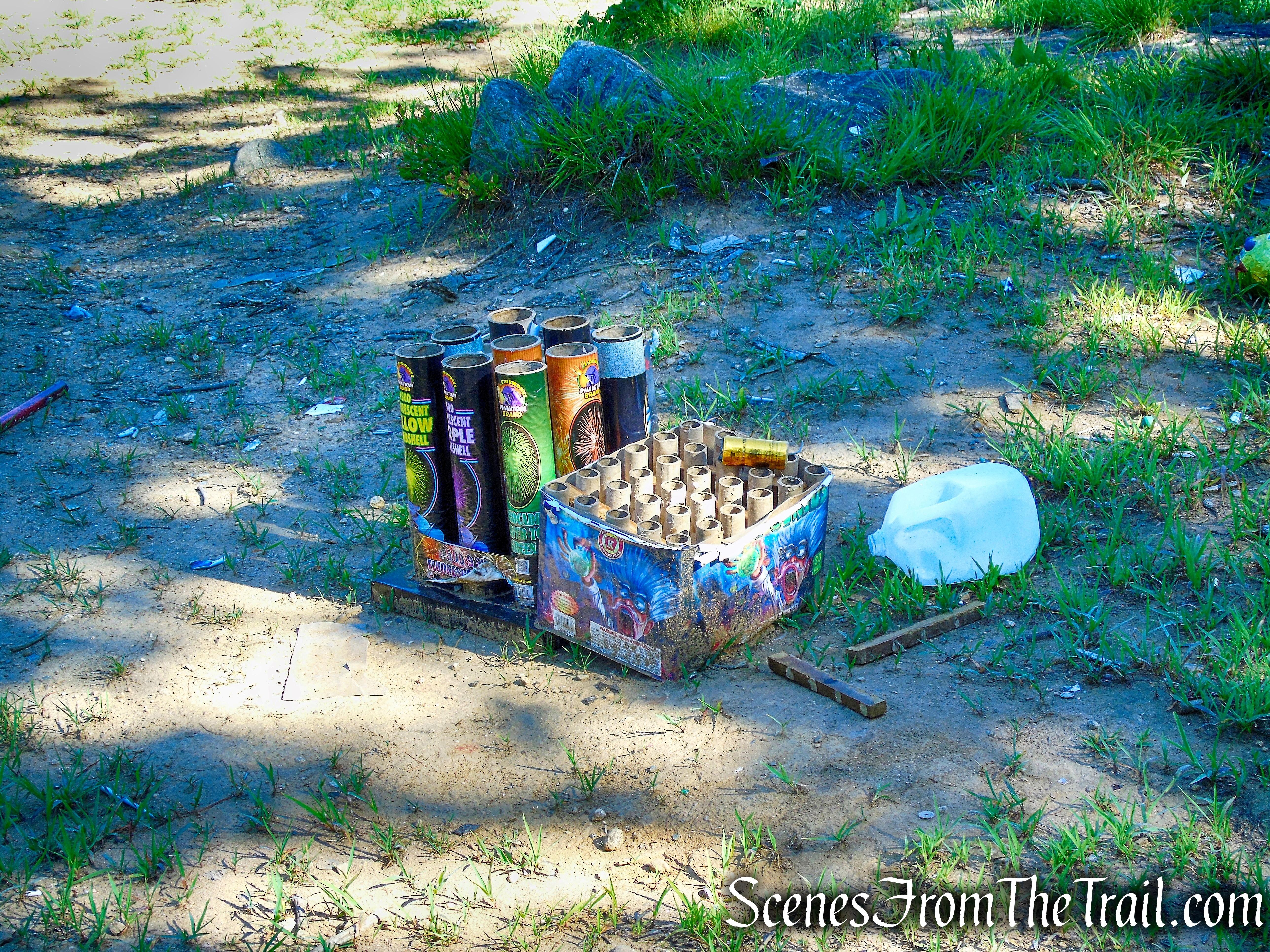 rock outcrop - Little-Laurel Lime Ridge Park