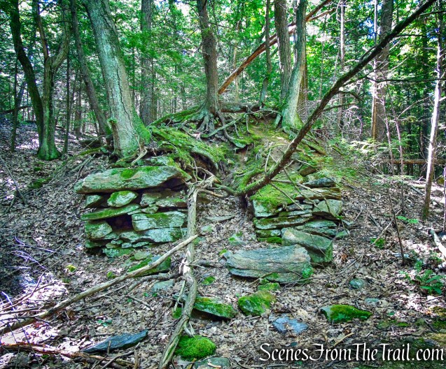 lime kiln ruins - Little-Laurel Lime Ridge Park
