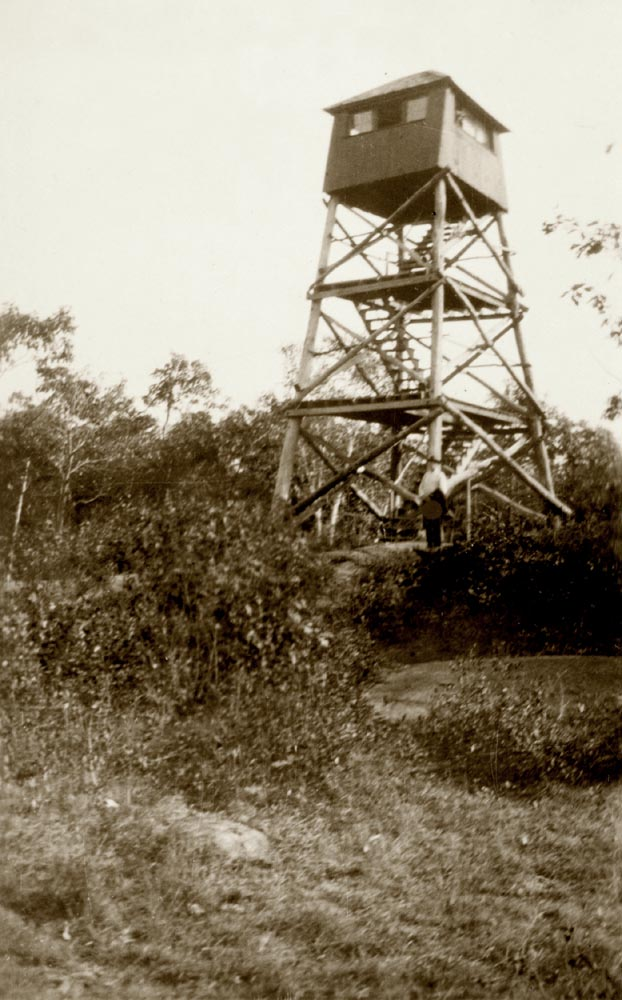 Mohawk Mountain Fire Tower 1922 - Cornwall Historical Society