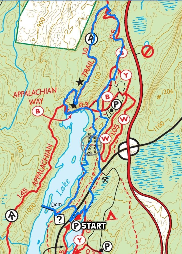 Canopus Lake Overlook Loop – Fahnestock State Park