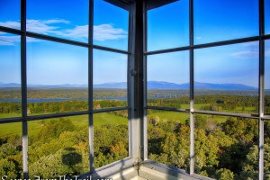 Looking northwest - Ferncliff Forest Fire Tower