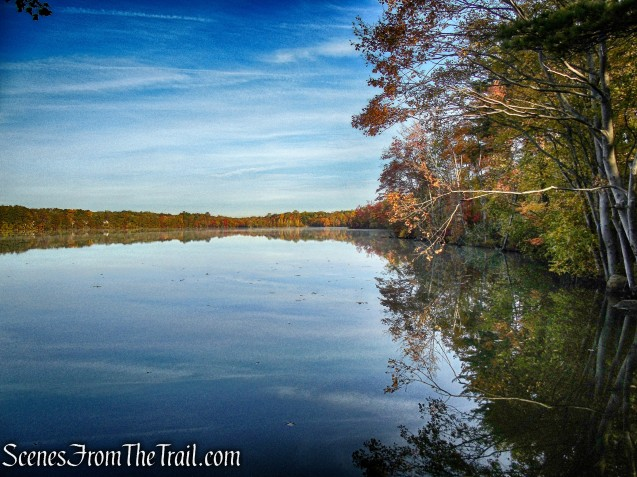 view from Accessible Trail - Franklin Lakes Nature Preserve
