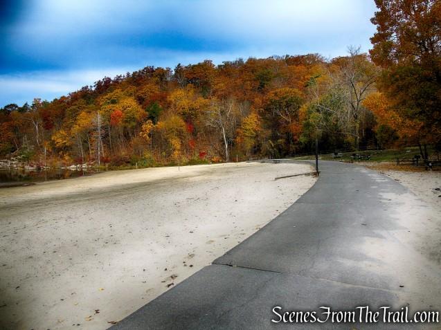 Canopus Lake Beach - Fahnestock State Park