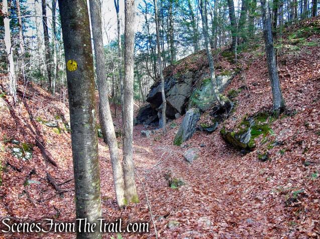 Quartz Mine - Van Sinderen Loop Trail