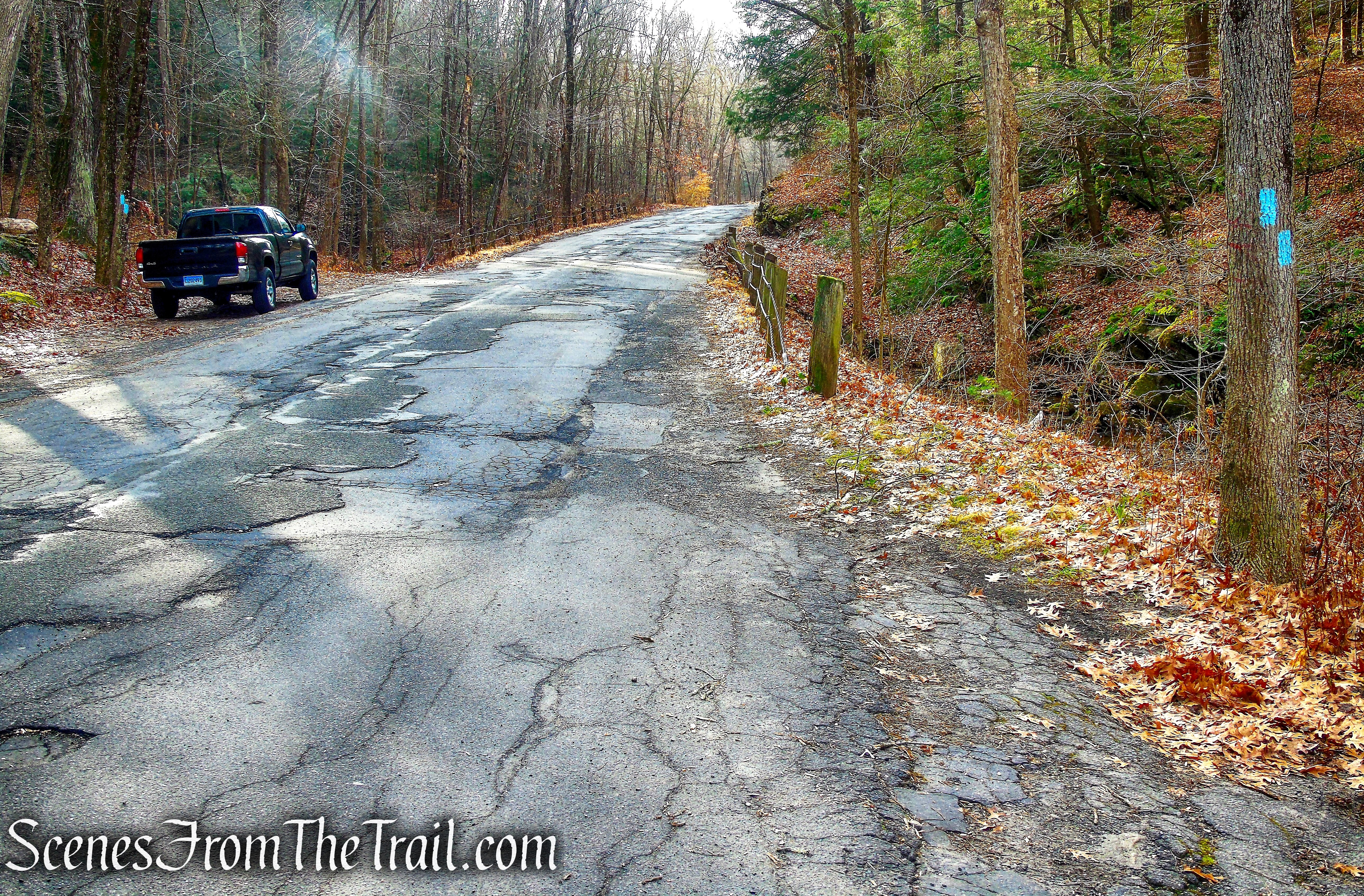 Mattatuck Trail – Bidwell Hill Road
