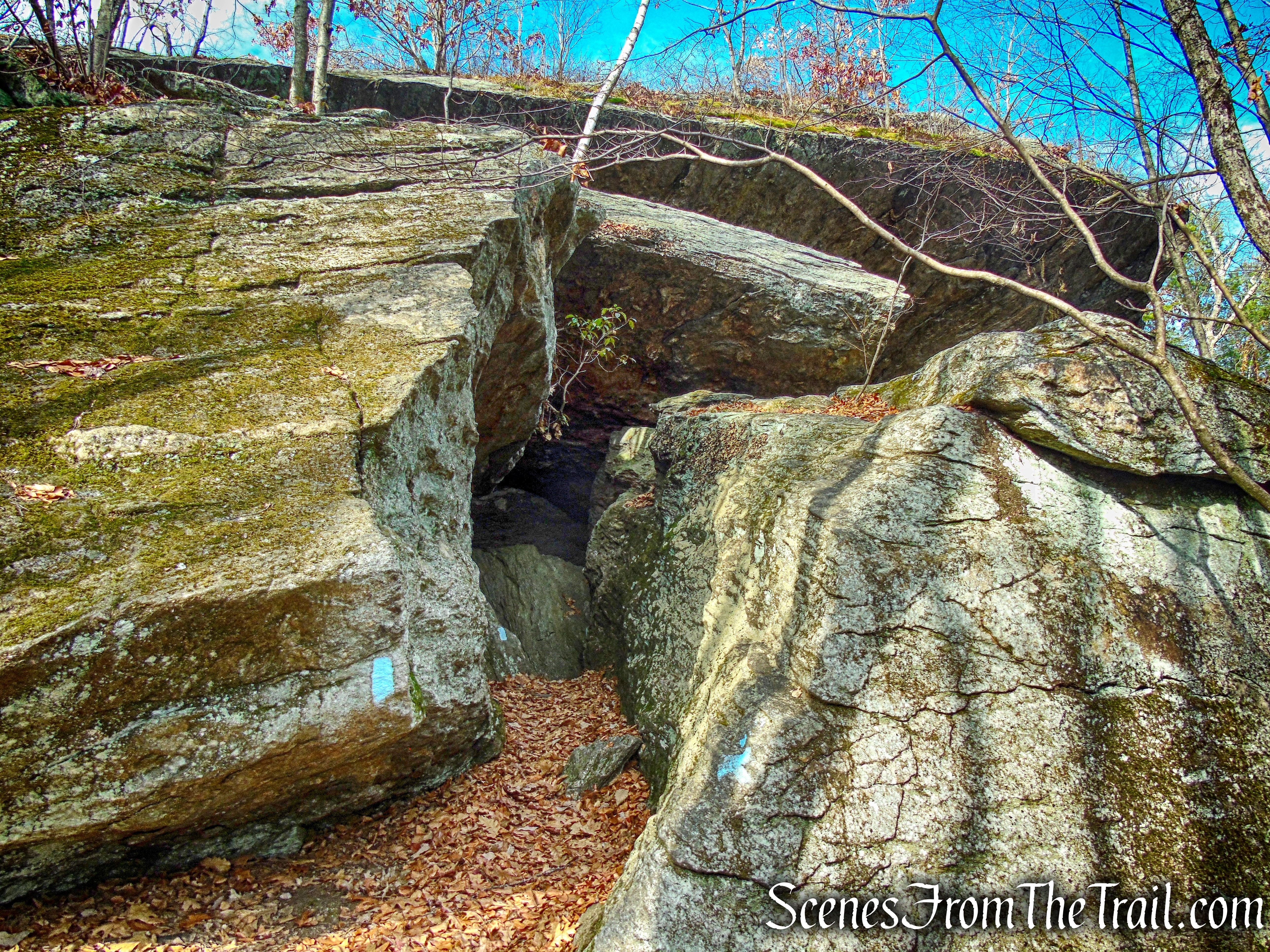 Leatherman's Cave - Mattatuck State Forest