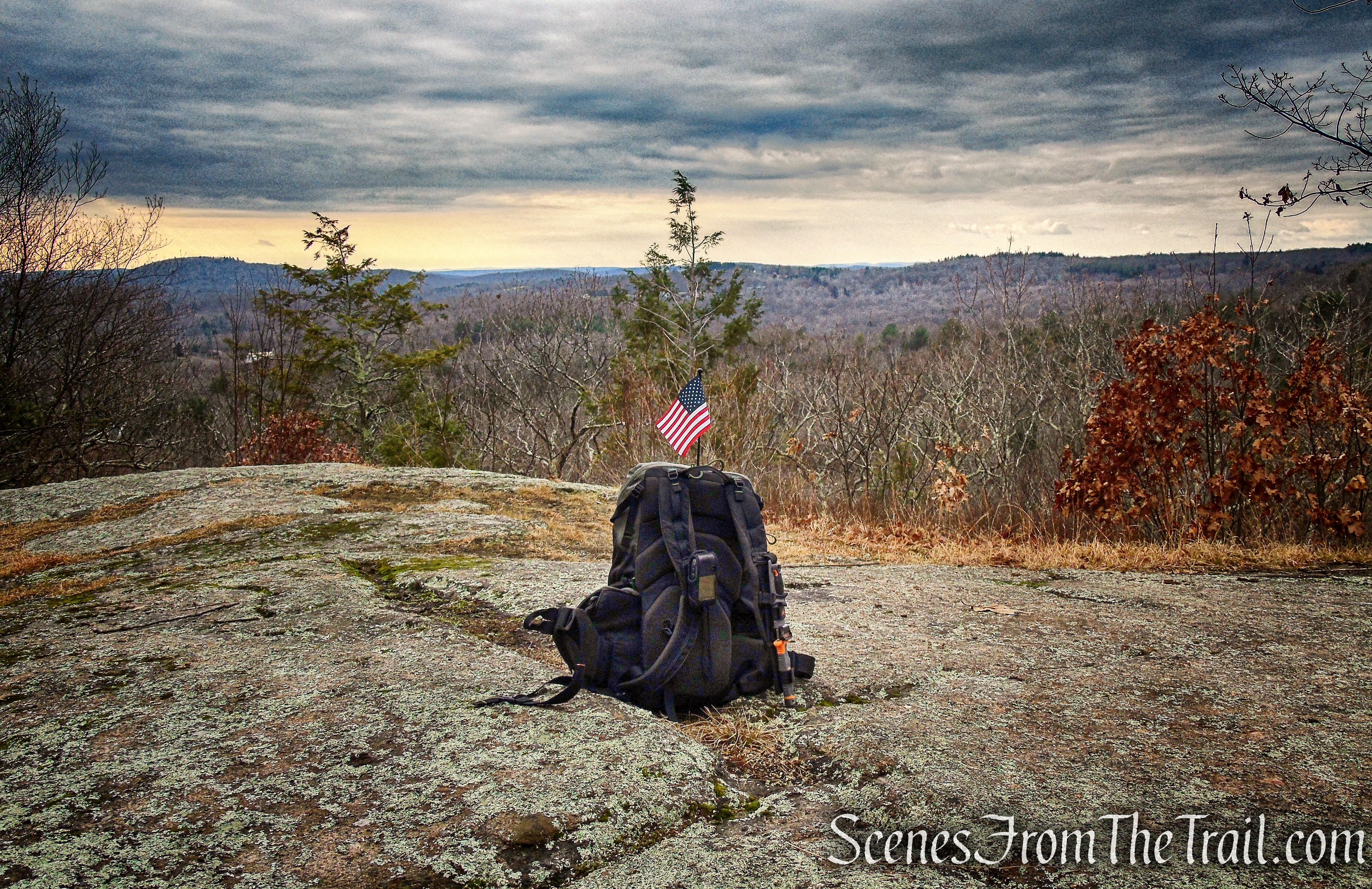 South Summit view – Prospect Mountain Preserve