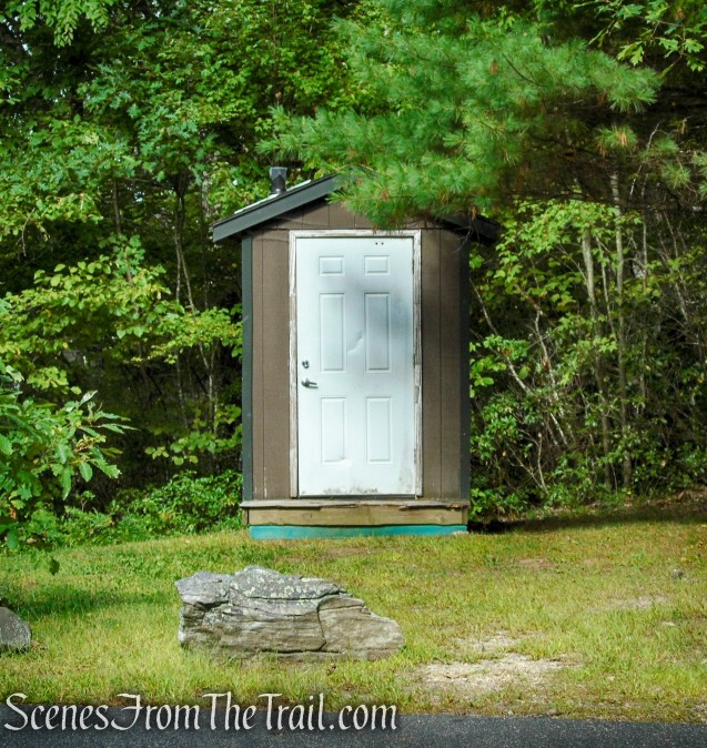 compost toilet - Haystack Mountain State Park