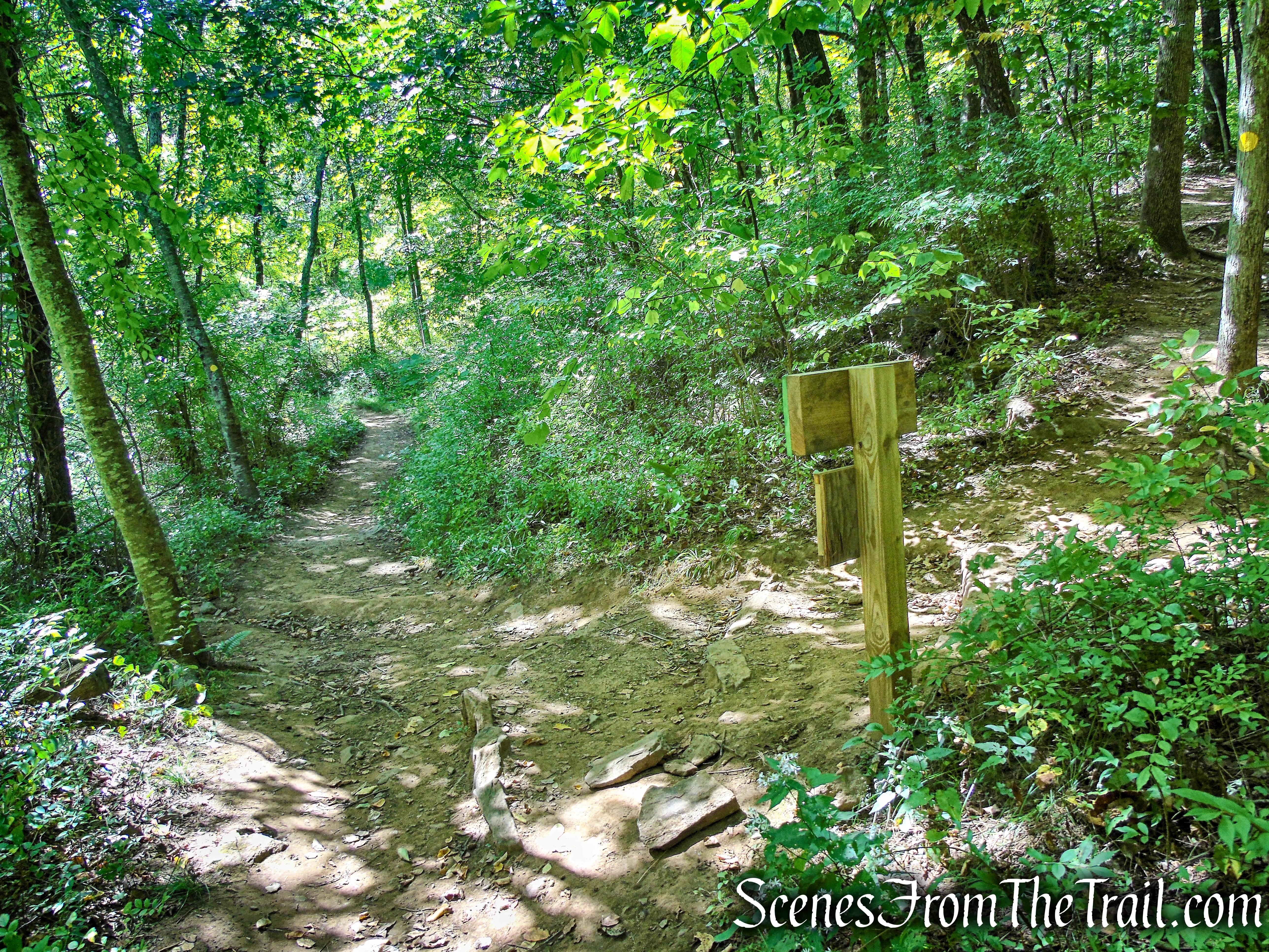 terminus of Ridgeline Trail