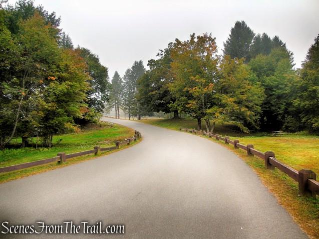 paved park road - Black Rock State Park