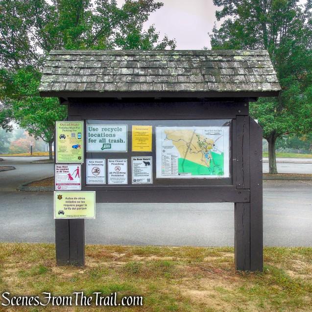beach parking area - Black Rock State Park