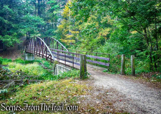 footbridge - Black Rock State Park