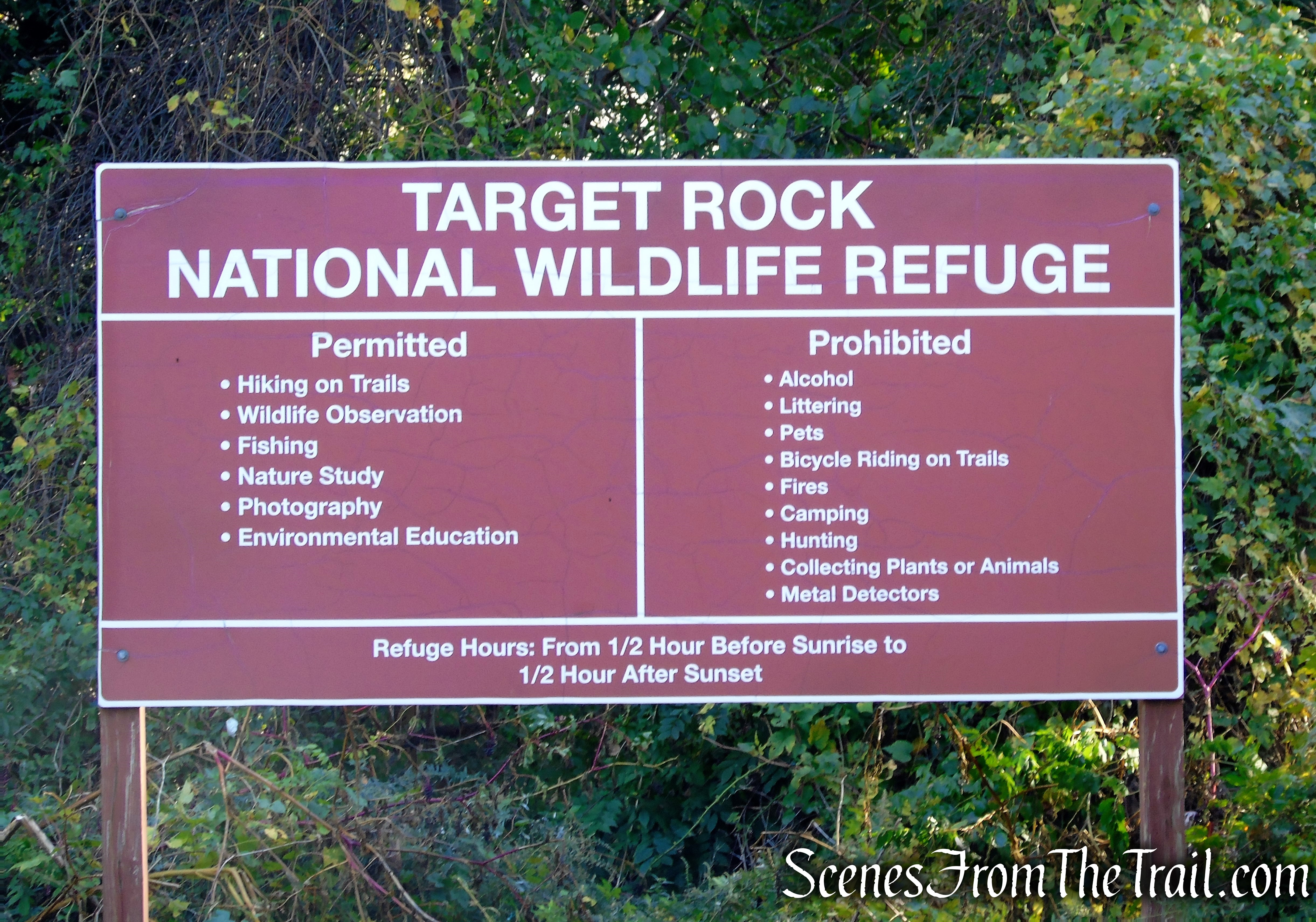 Target Rock National Wildlife Refuge
