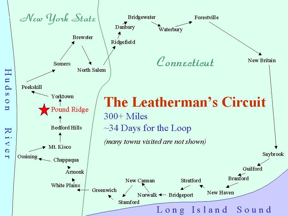The Leatherman's circuit