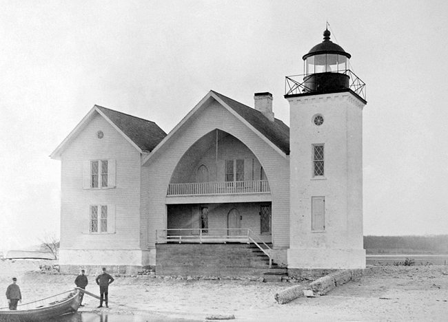 Lloyd Harbor Light - 1885