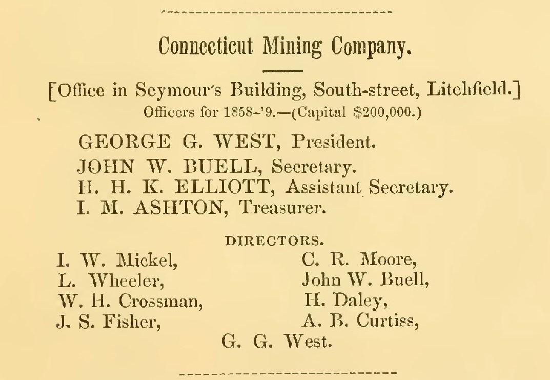 Connecticut Mining Company