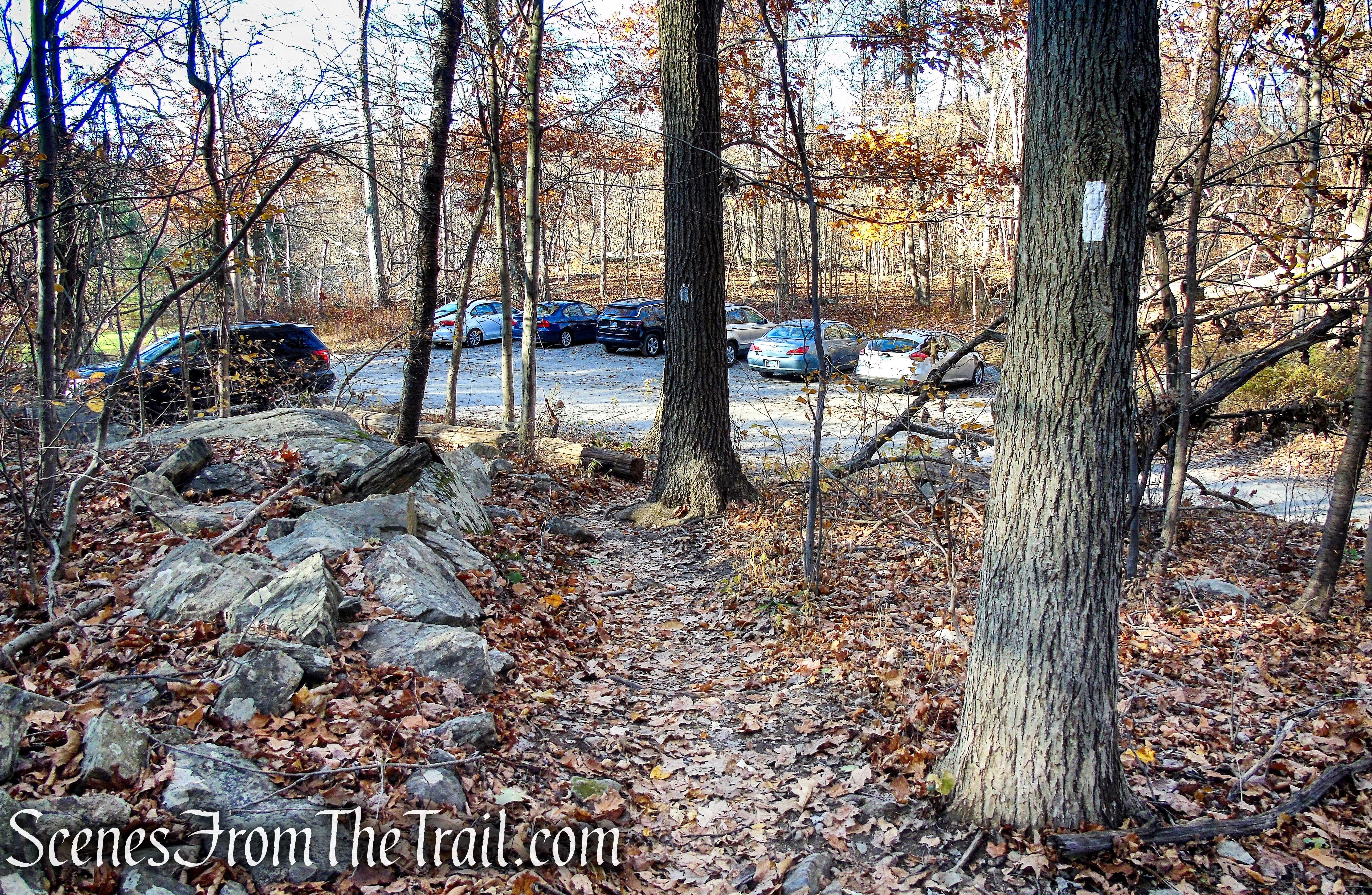 Long Hill Road trailhead