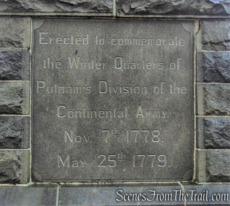 Memorial Monument - Putnam Memorial State Park