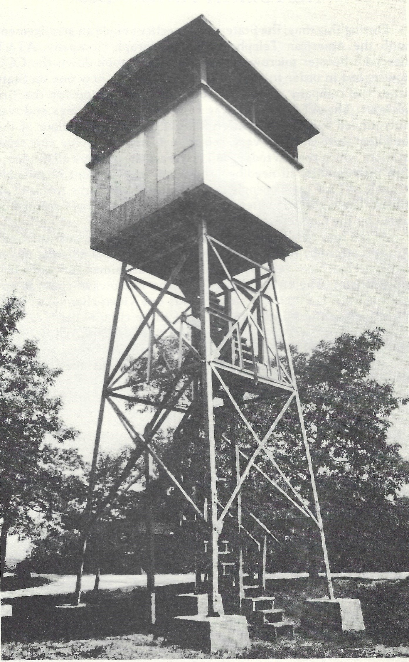 Booth Hill tower