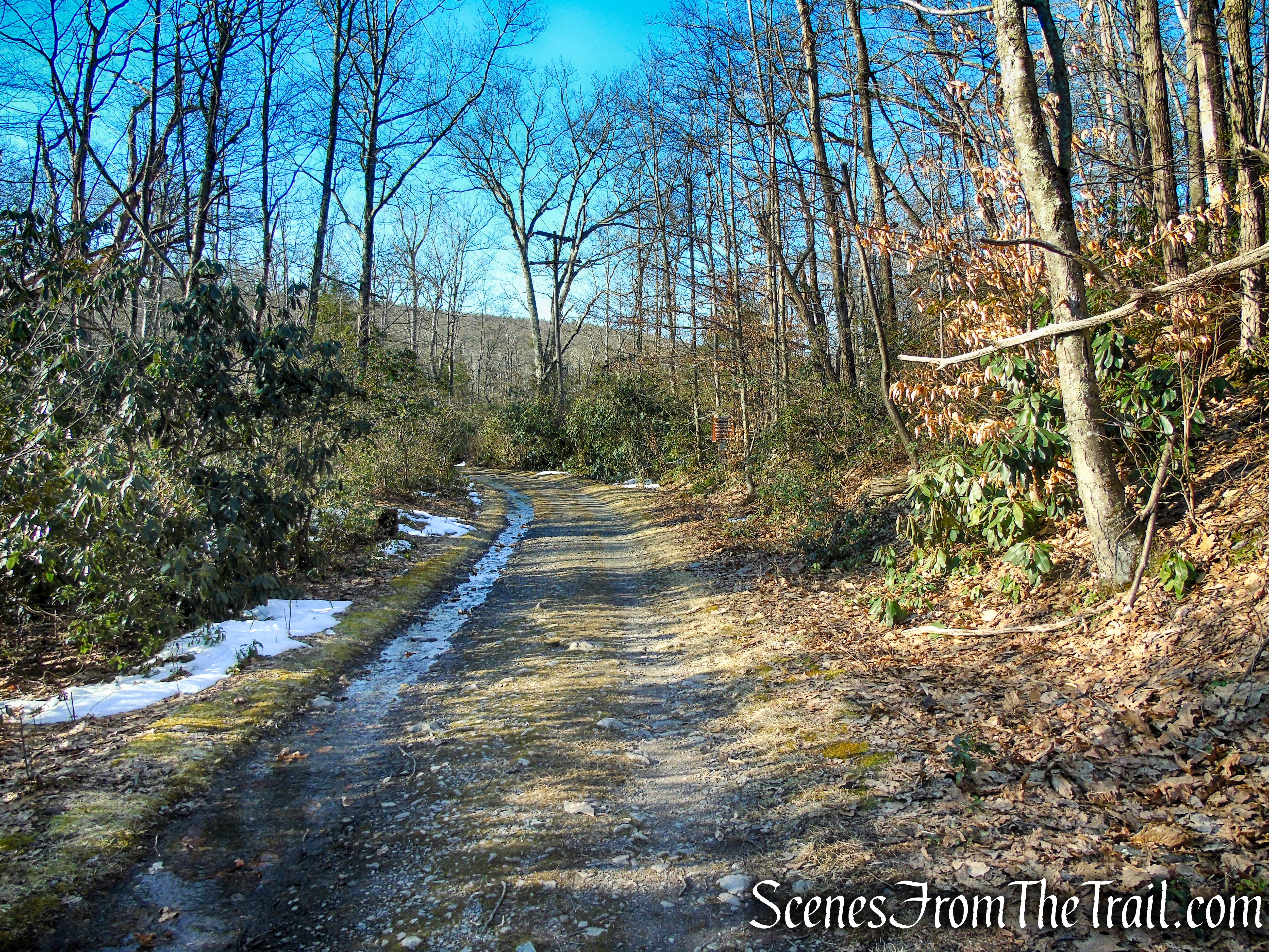 Appalachian Trail - southbound