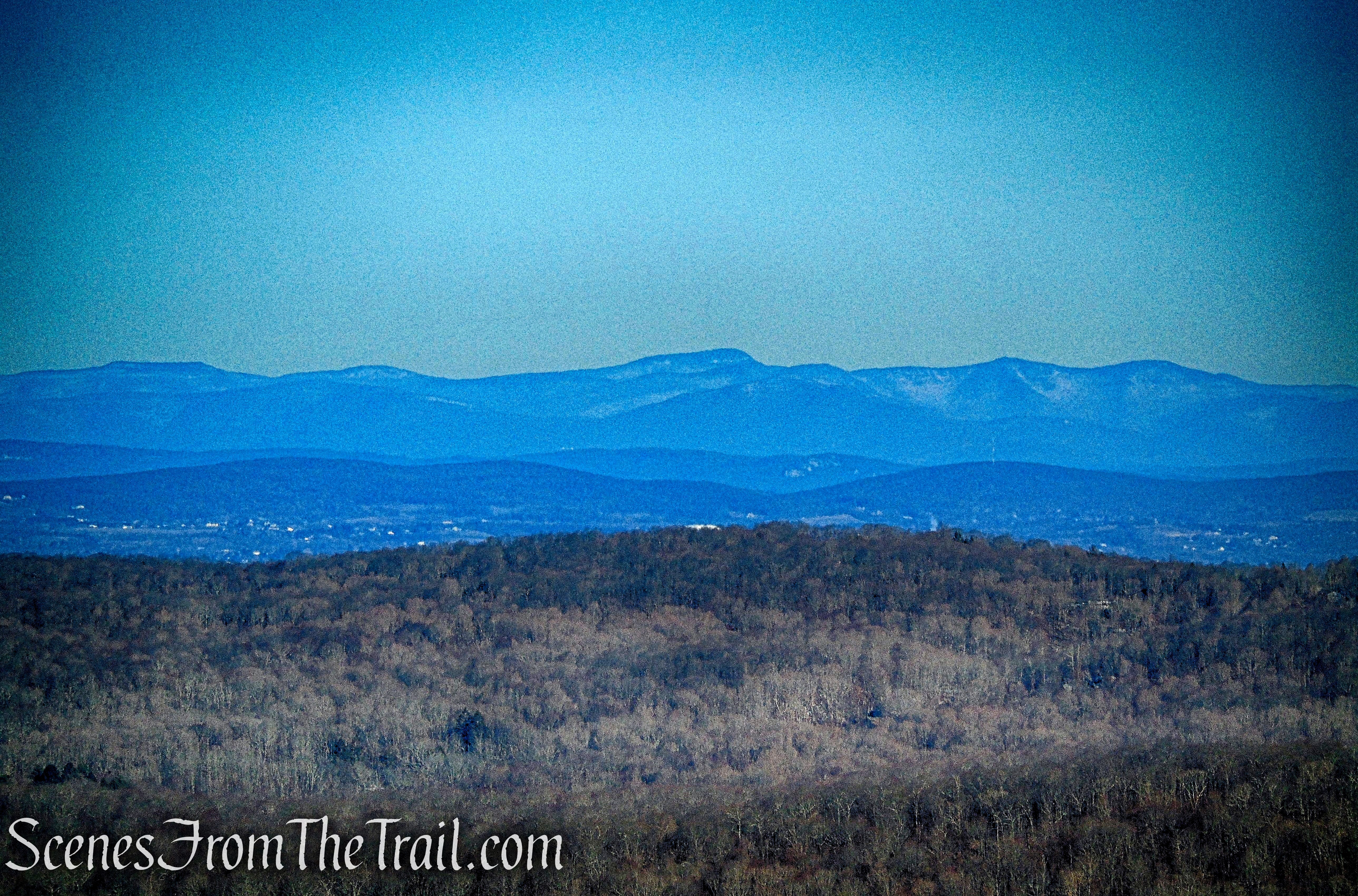 Catskill Mountains from Mount Nimham Fire Tower
