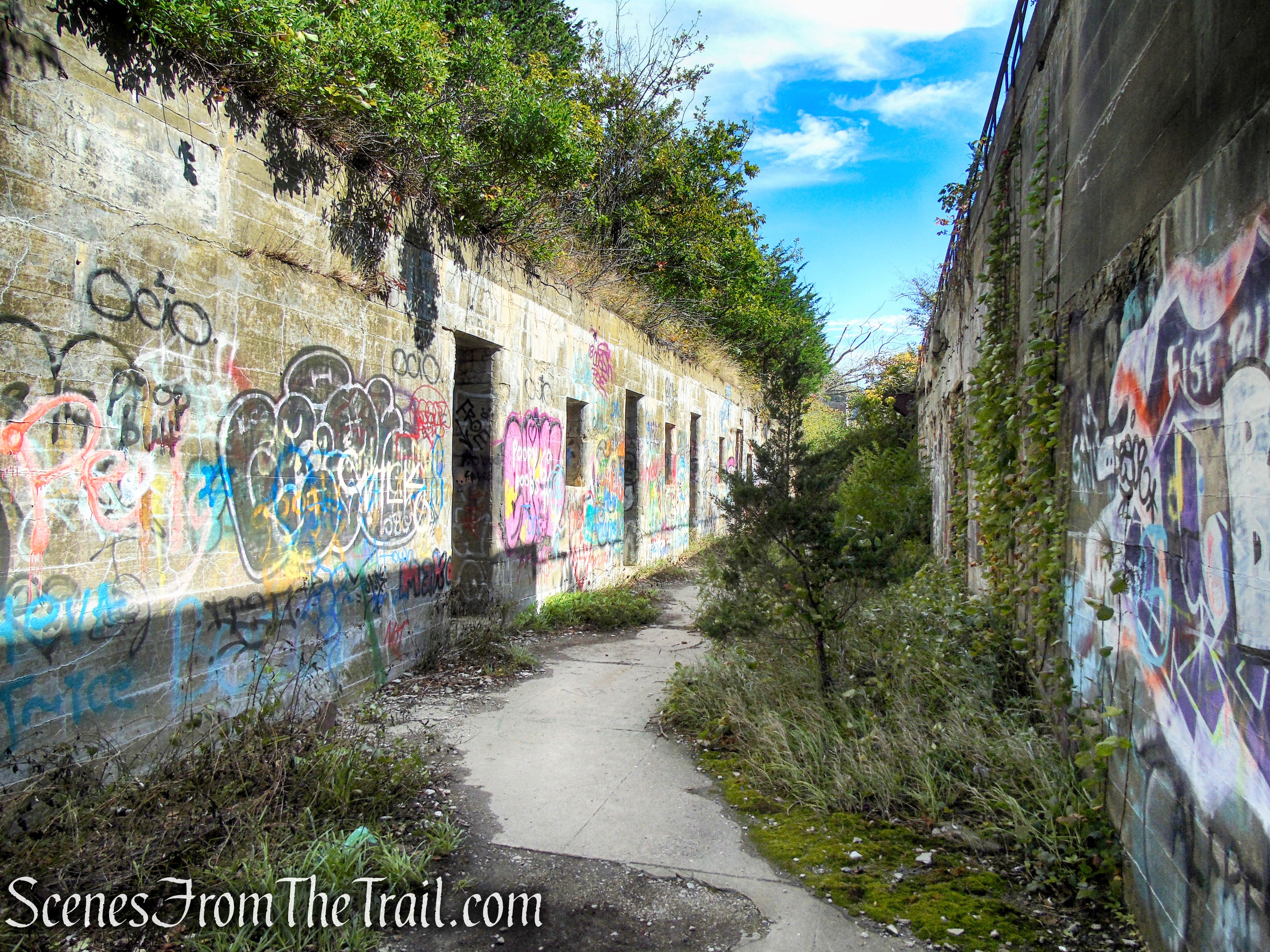 Fort Wetherill Ruins