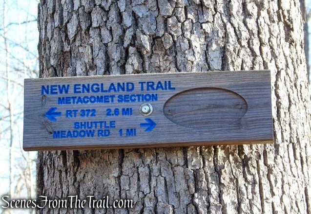 Metacomet Trail - Crescent Lake Recreation Area