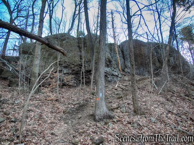 Traprock ridge - Crescent Lake Recreation Area