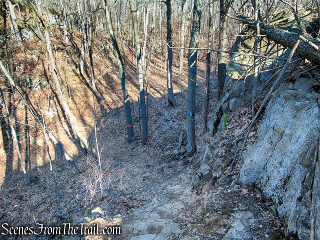 Blue/Orange Trail - Crescent Lake Recreation Area