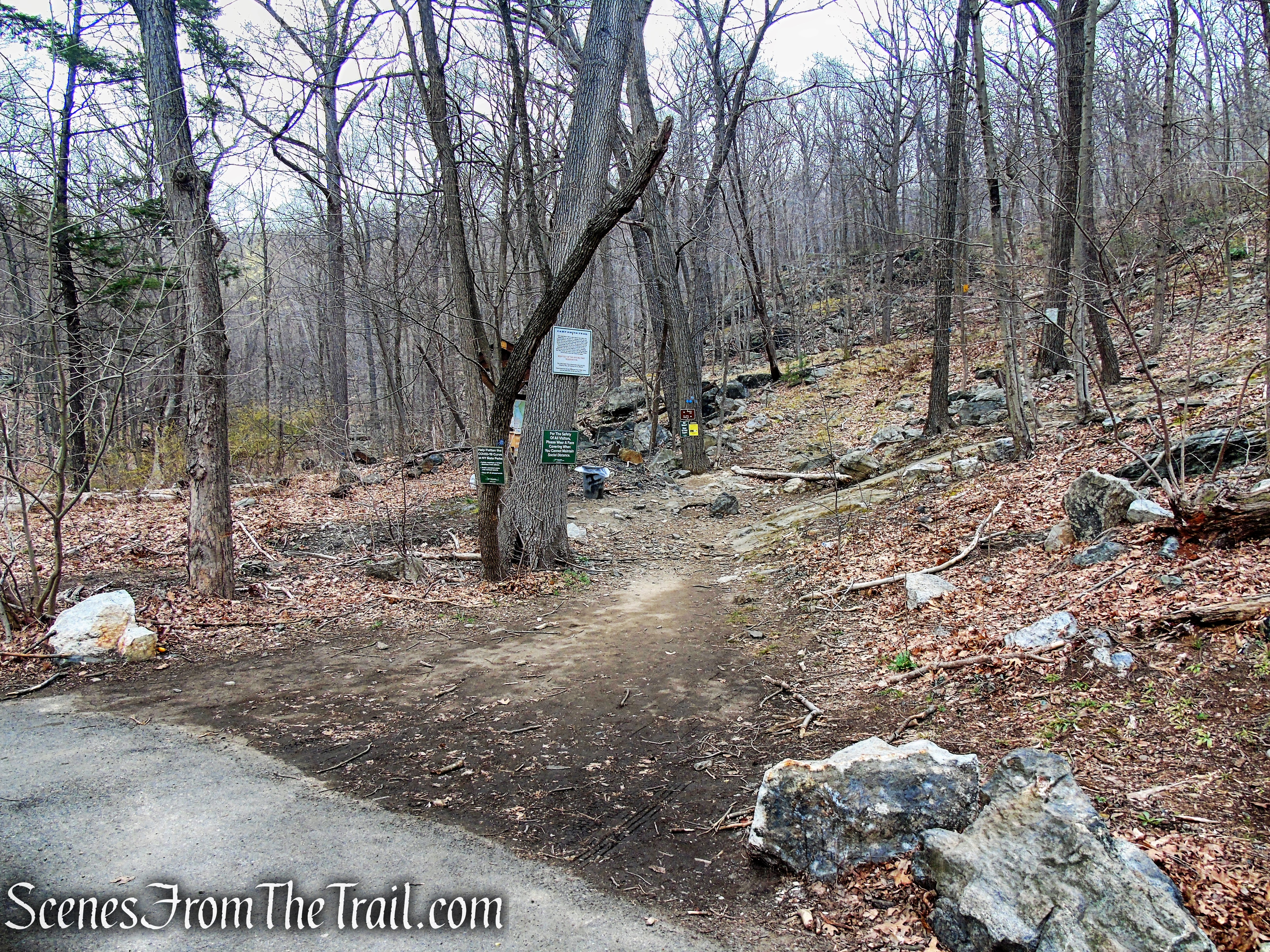 Route 202 trailhead - Anthony's Nose