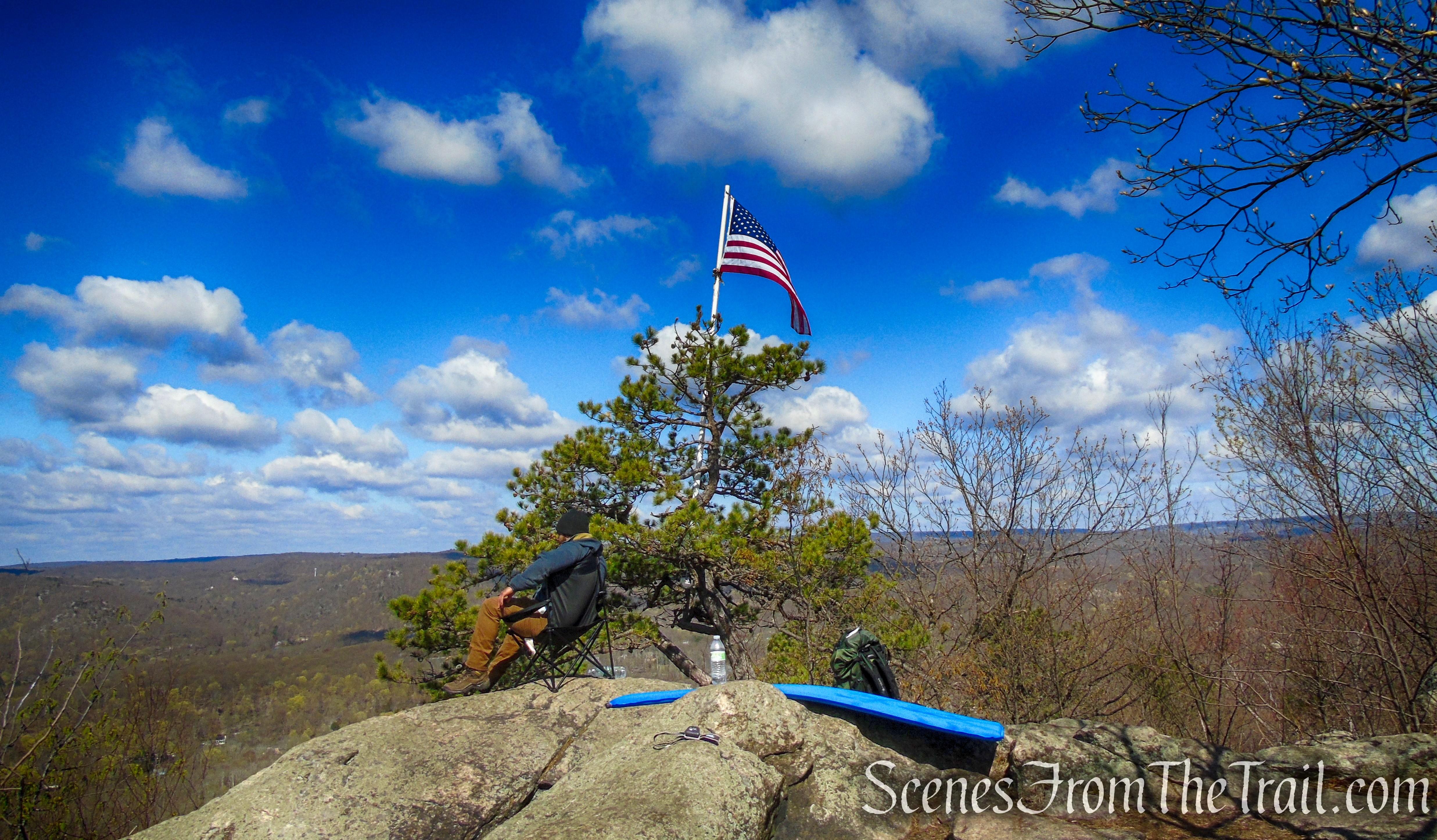 Windbeam Mountain summit