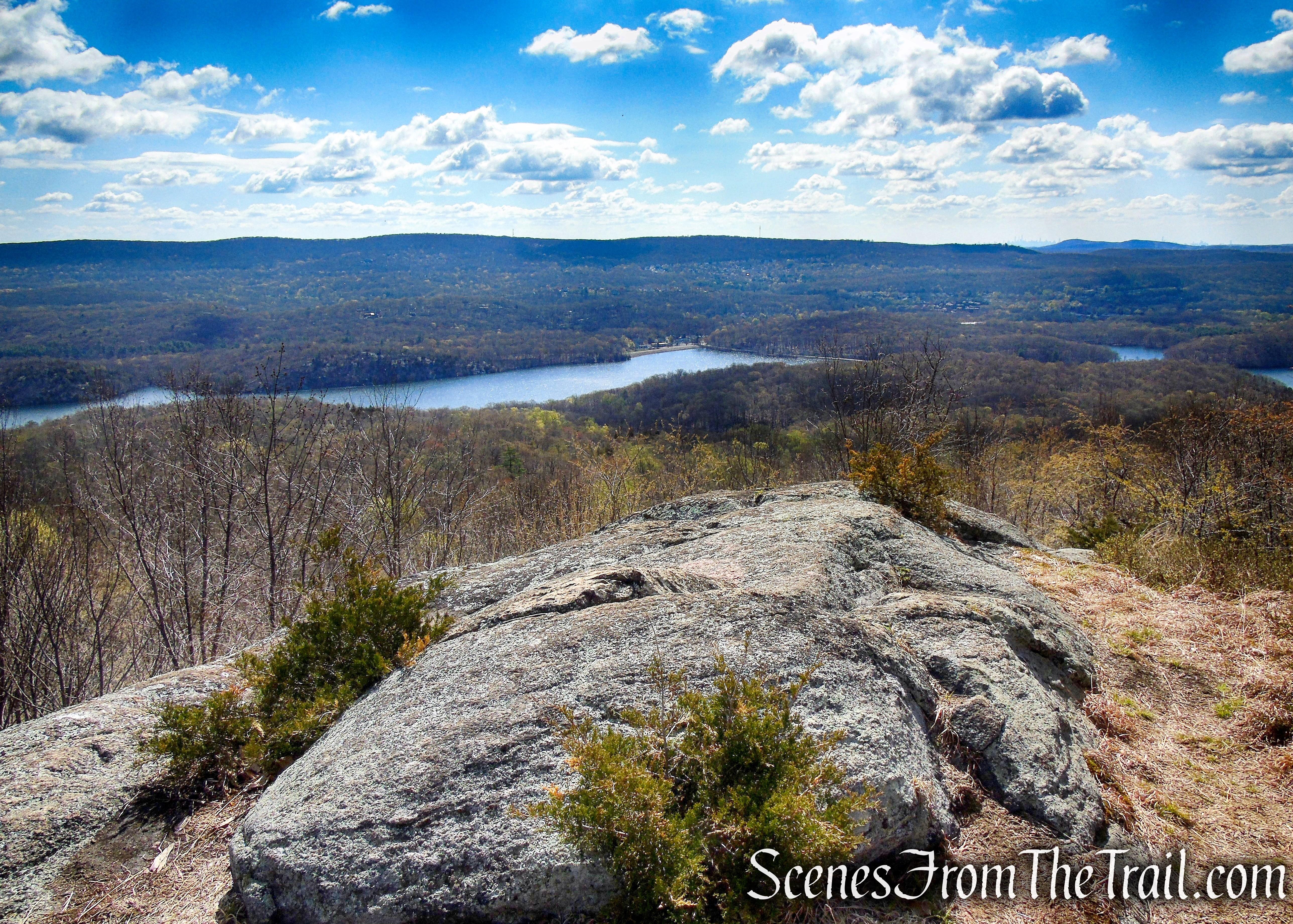 view southeast - Windbeam Mountain 2nd summit