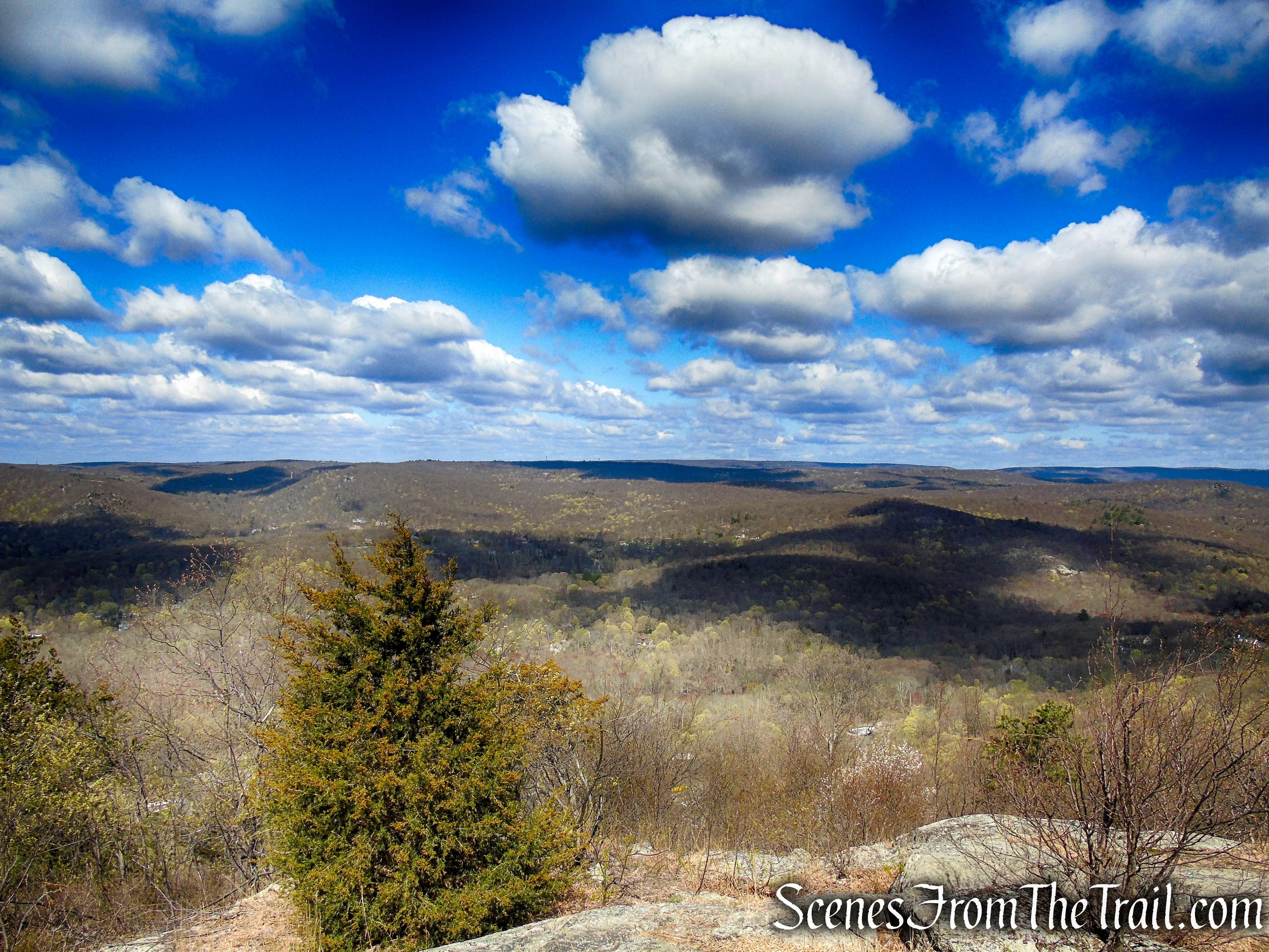 view southwest - Windbeam Mountain 2nd summit