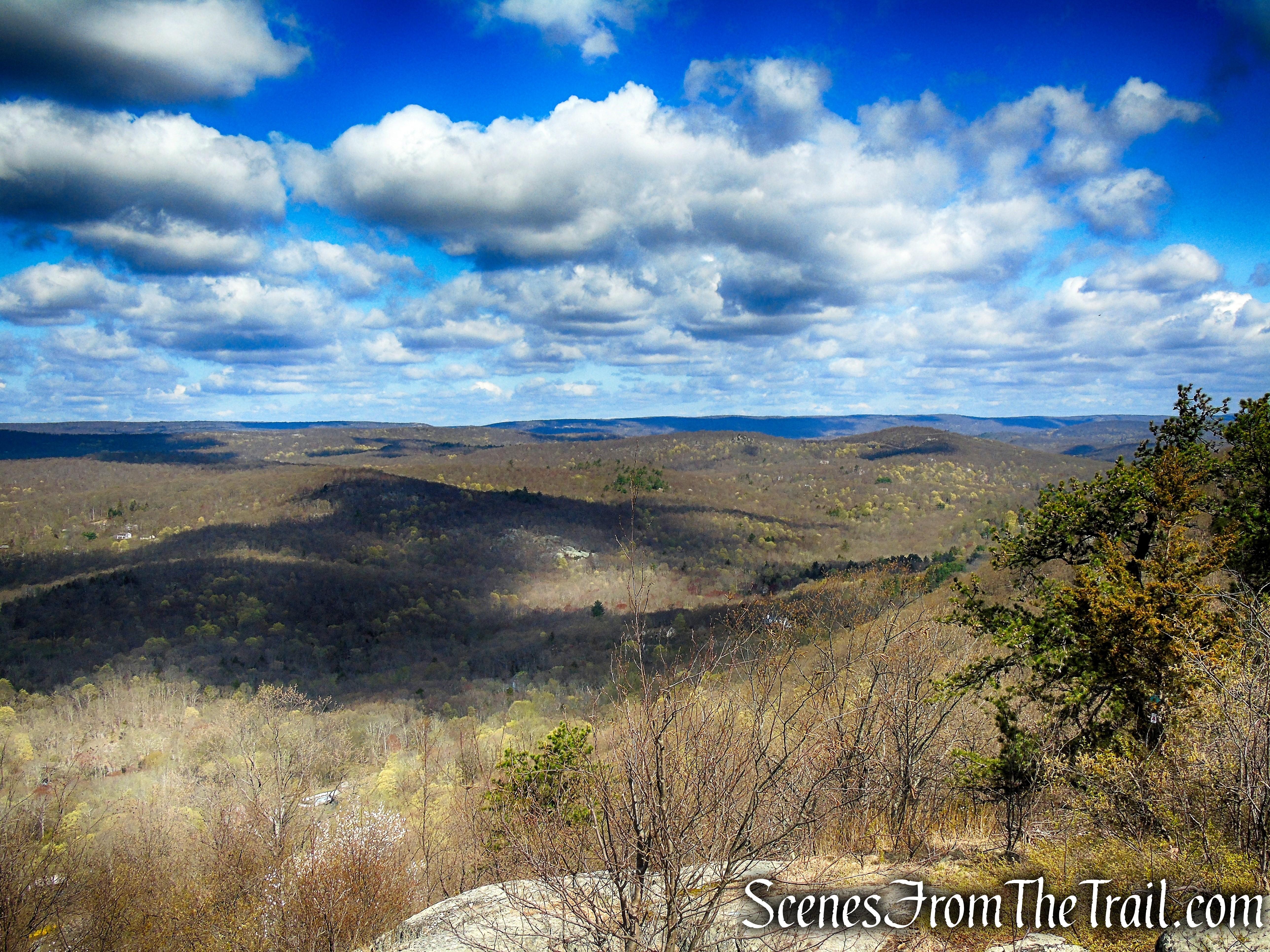 view northwest - Windbeam Mountain 2nd summit