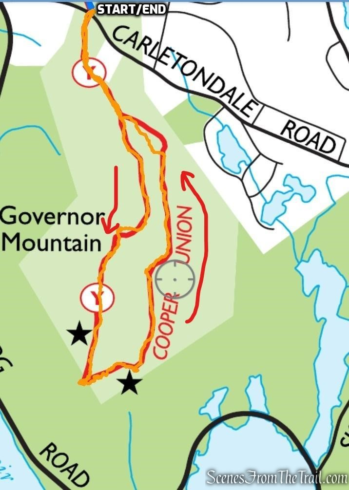 Governor Mountain – Ringwood State Park