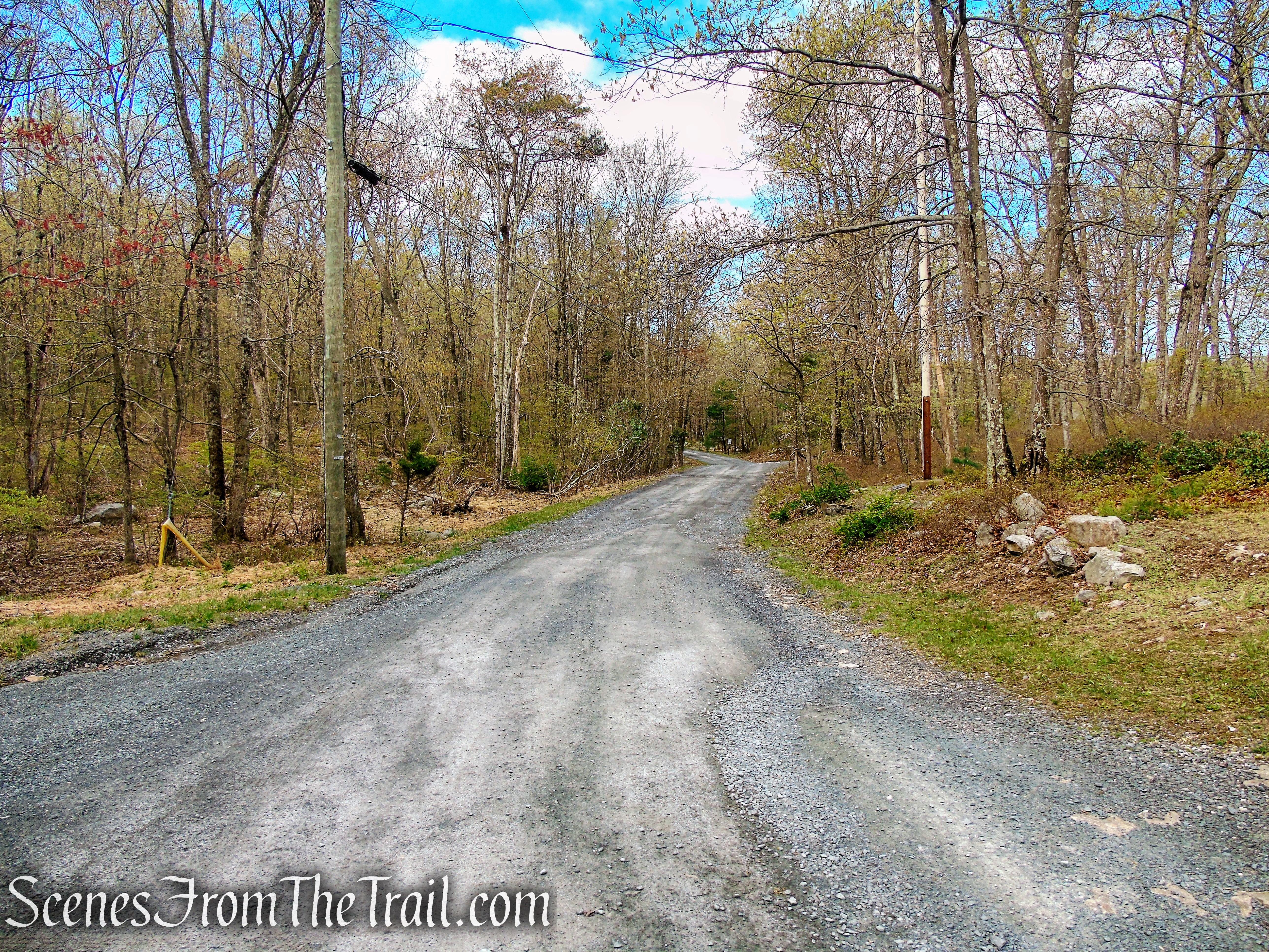Camp Mohican Road - Delaware Water Gap