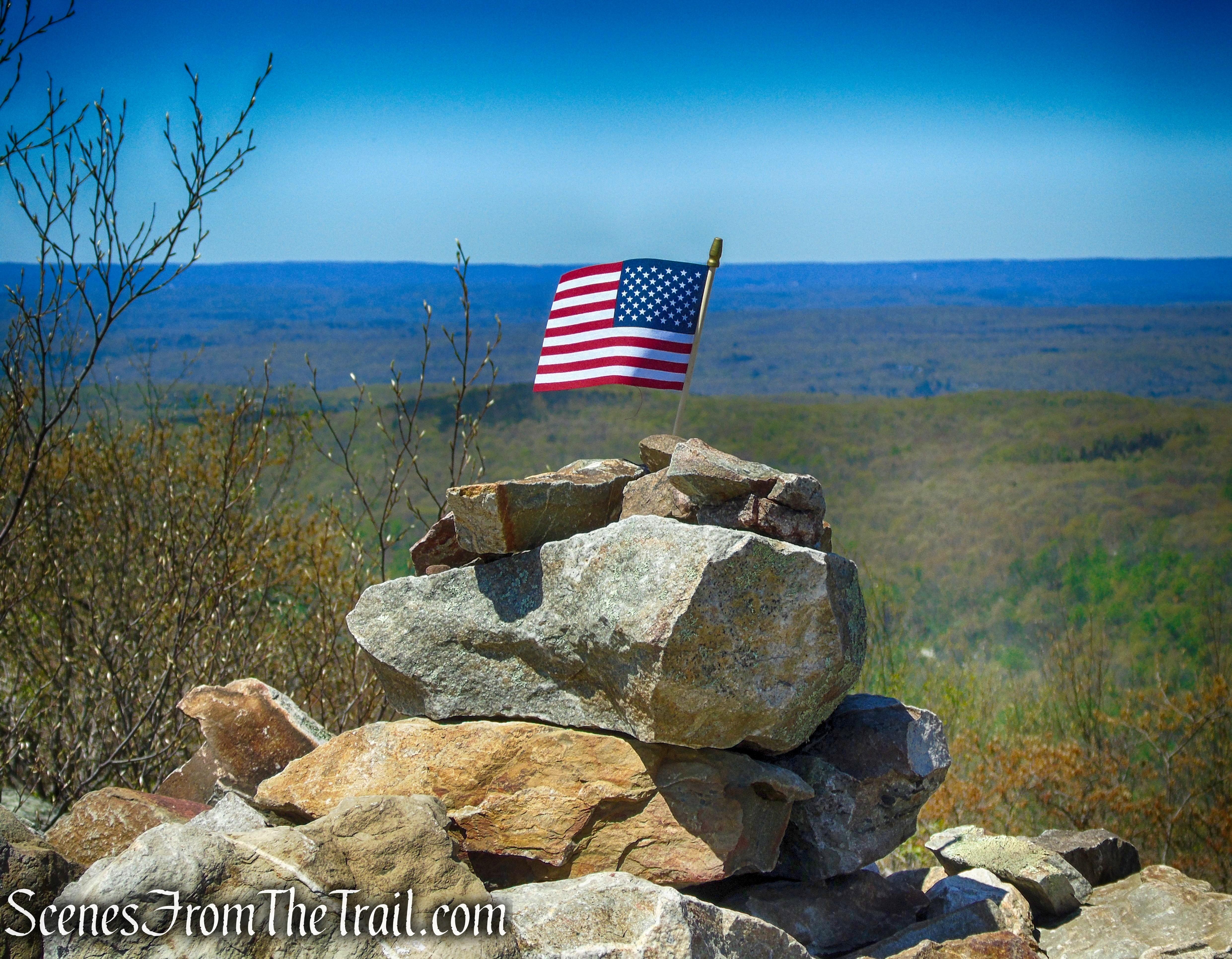 Raccoon Ridge summit