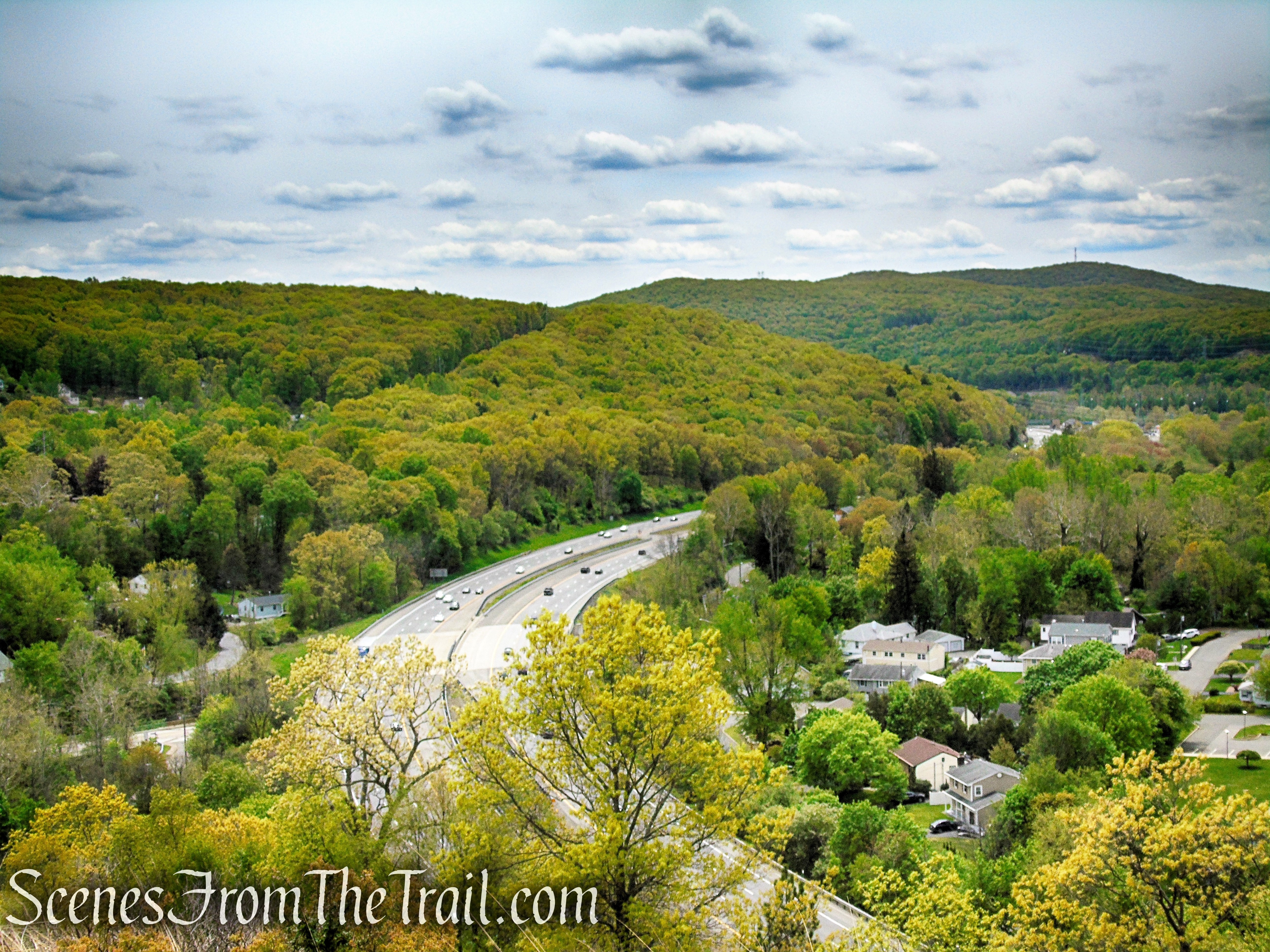 View of NYS Thruway - Dater Mountain Nature Park