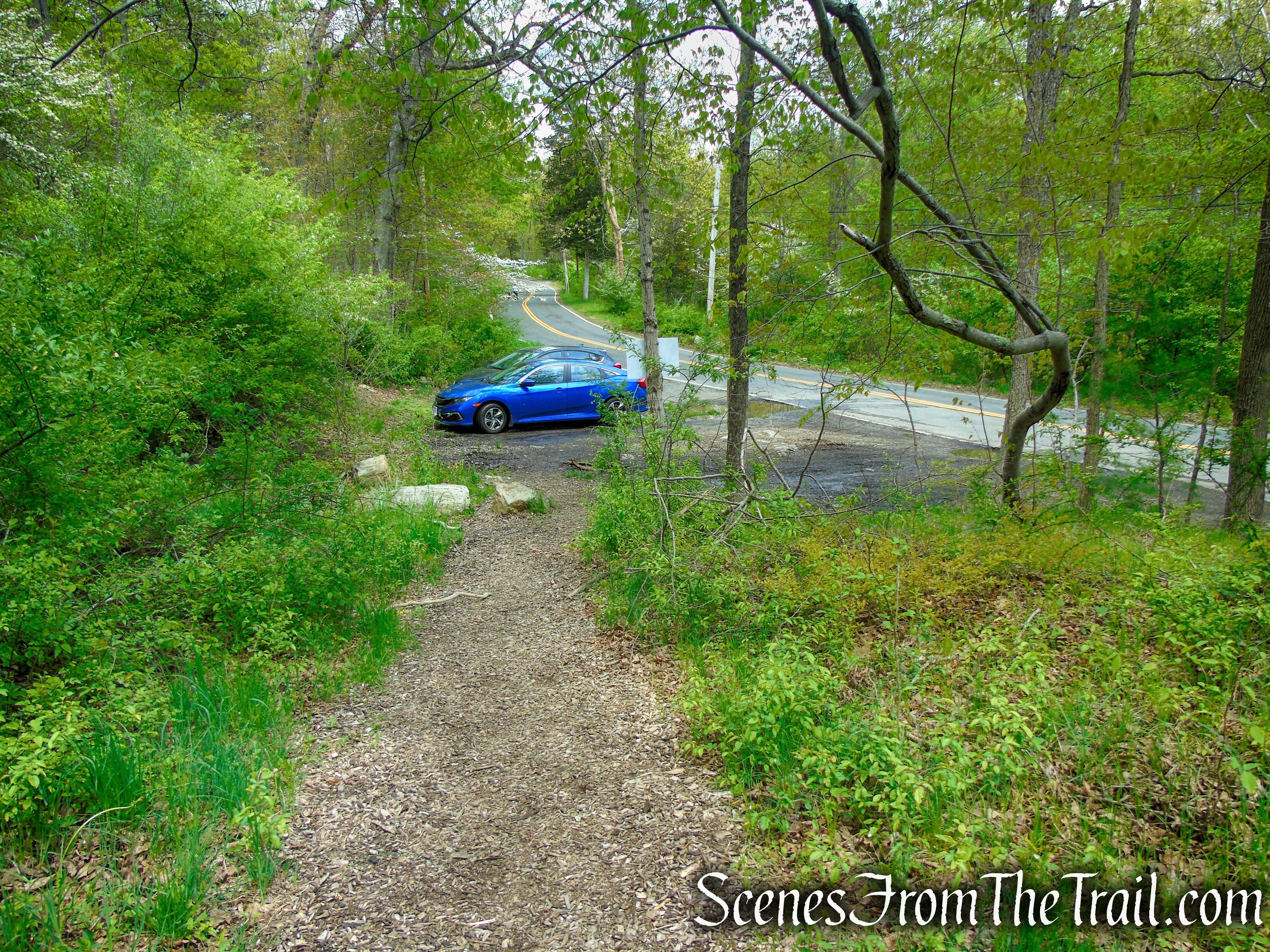 parking area - Dater Mountain Nature Park