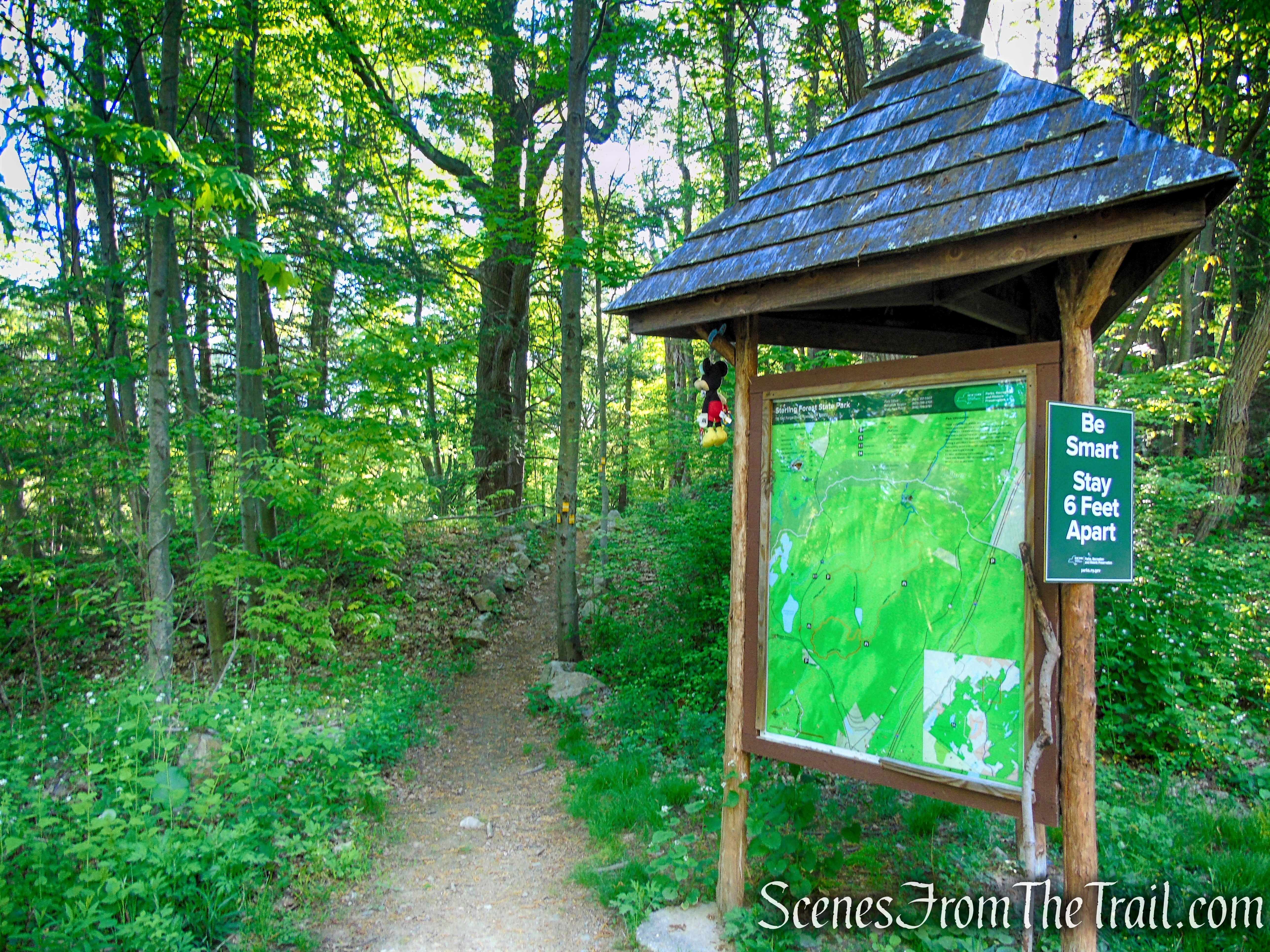 Indian Hill Loop Trail - Sterling Forest State Park