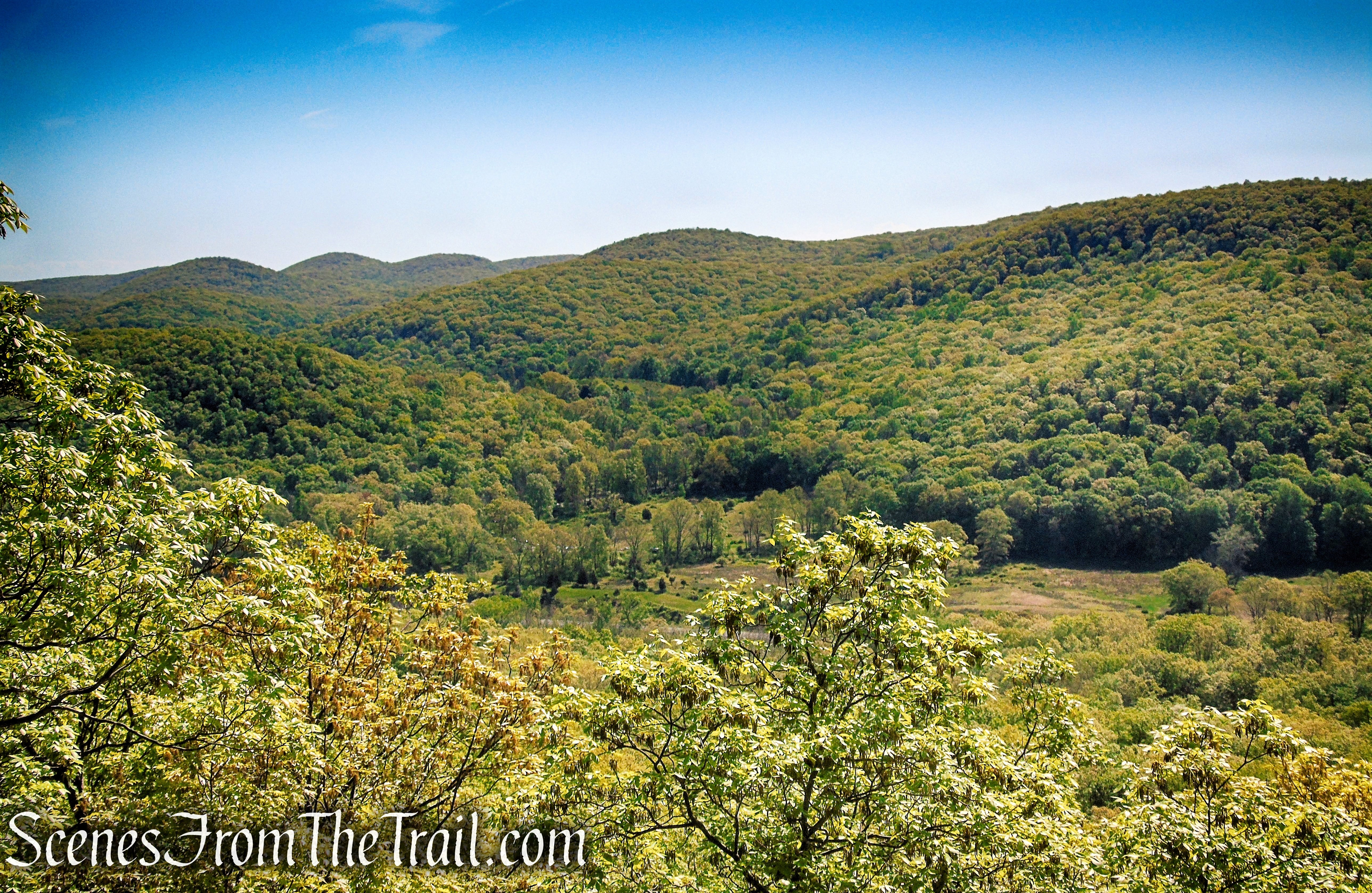 View east towards Harriman State Park